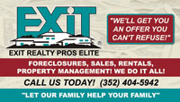 Exit realty business card sample