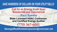 real estate inspector business card sample